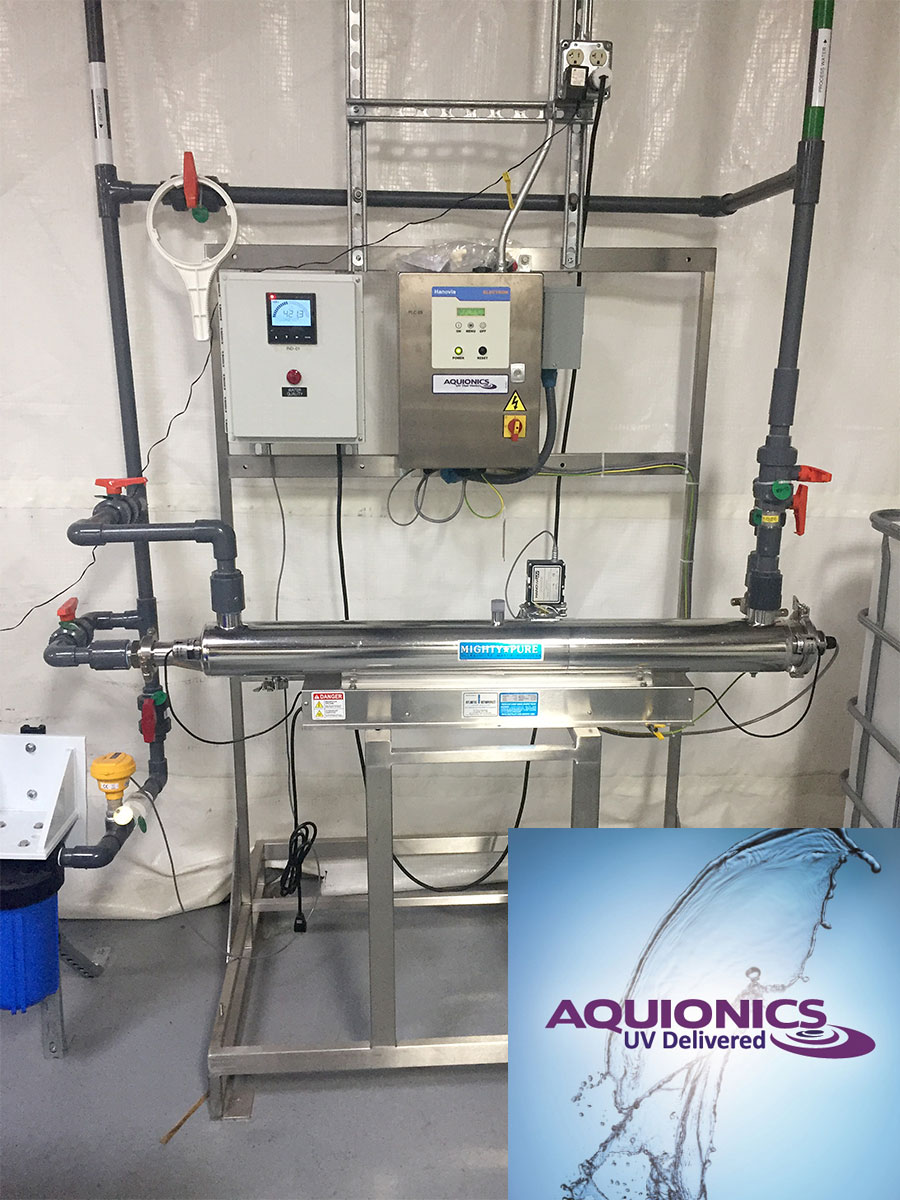 Aquionics UV water treatment